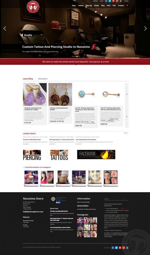 Tranceformations | Web Design, Branding, Marketing, Programming, Ecommerce, Solutions Development
