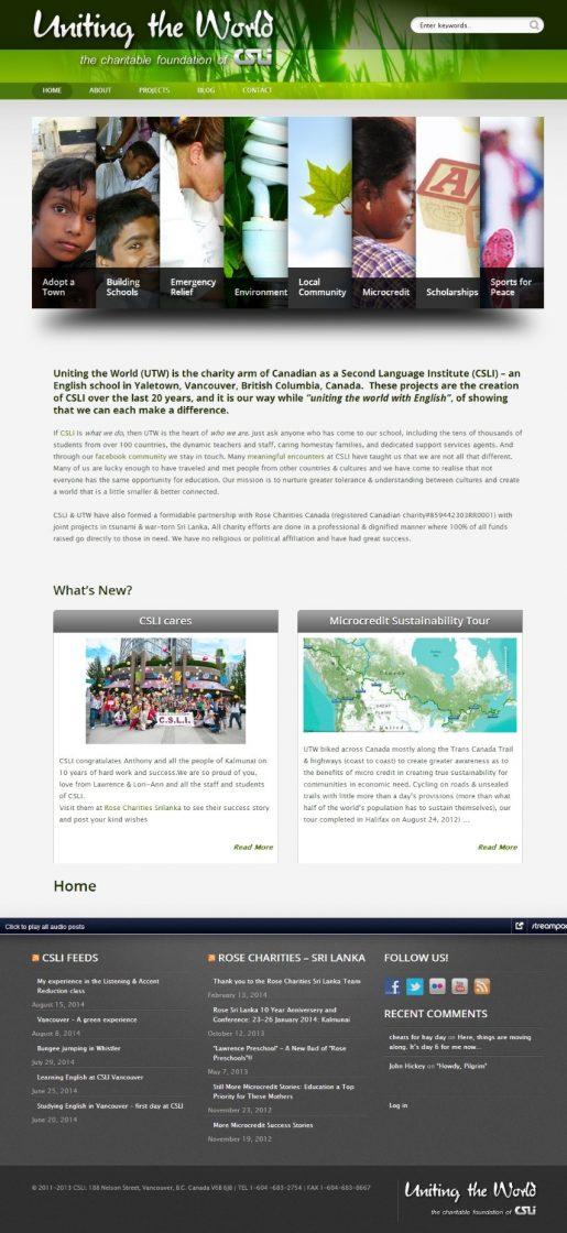 Web Design: Uniting the World