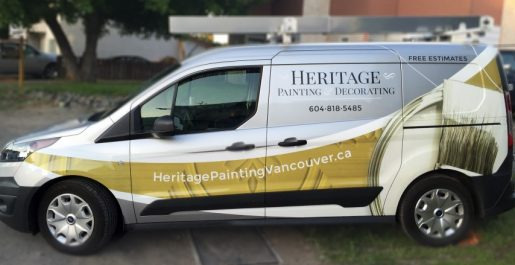 Heritage Painting and Decorating - Vehicle Wrap